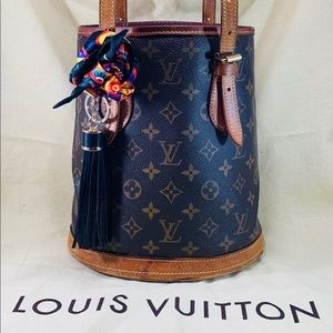 LOUIS VUITTON Monogram Bucket Bag PM